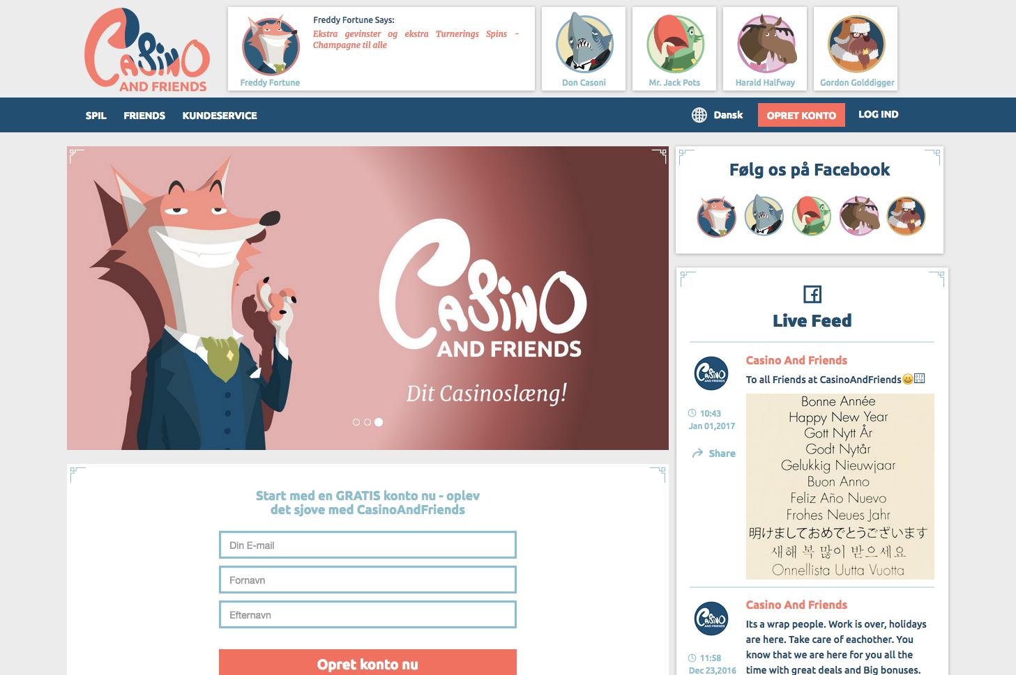 CasinoAndFriends casino anmeldelse